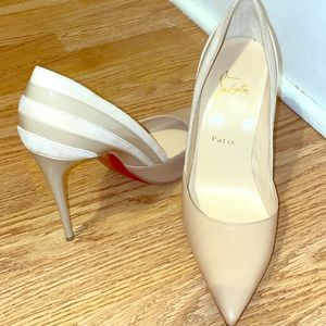 cheap red bottom shoes under $100